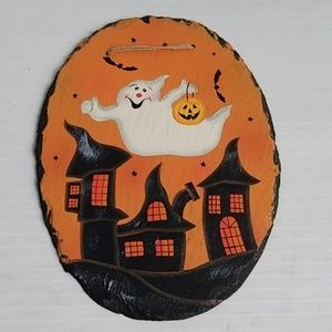 Hand Painted Double-sided Halloween Fall Decor